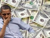 Obama thinking about money.